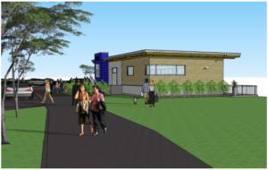 UBC Football Academic Centre Construction Underway