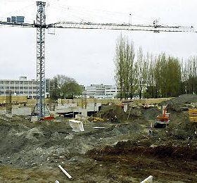 Aquatic Centre Construction - 1978