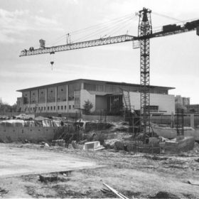Aquatic Centre Construction - 1975