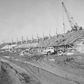Construction of Stadium, 1967