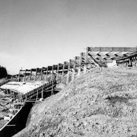 Construction of Thunderbird Stadium, 1967