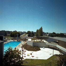 Empire Pool and Aquatic Centre - 1978