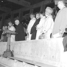 Opening ceremonies for Thunderbird Stadium, 1967