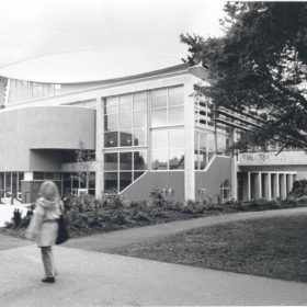 Outdoor View of the Student Recreation Centre, 1995
