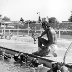 Empire Pool Swim Program - 1970