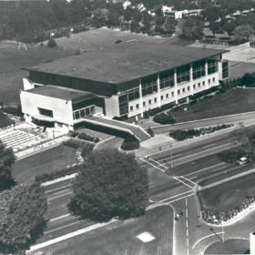 War Memorial Gymnasium, September 6, 1962