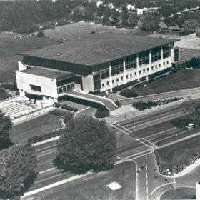 War Memorial Gymnasium, September 6, 1962