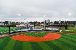 UBC Baseball Stadium Construction Completed